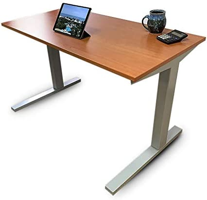 Whisper Ride Adjustable Height Desk Electric Standing Desk Stress Relief Workplace to Increase product image