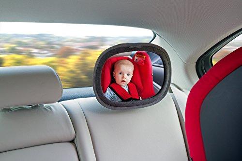 LittleLife Car Mirror Unisex-Baby, Black