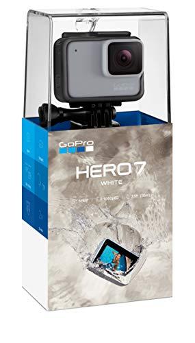 GoPro HERO7 Blanc - Caméra Numérique Étanche Écran Tactile, Vidéo HD 1440p, 10MP Photos - 4
