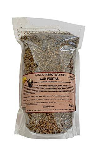 Pasta insectívoros para pájaros, 500 Gramos