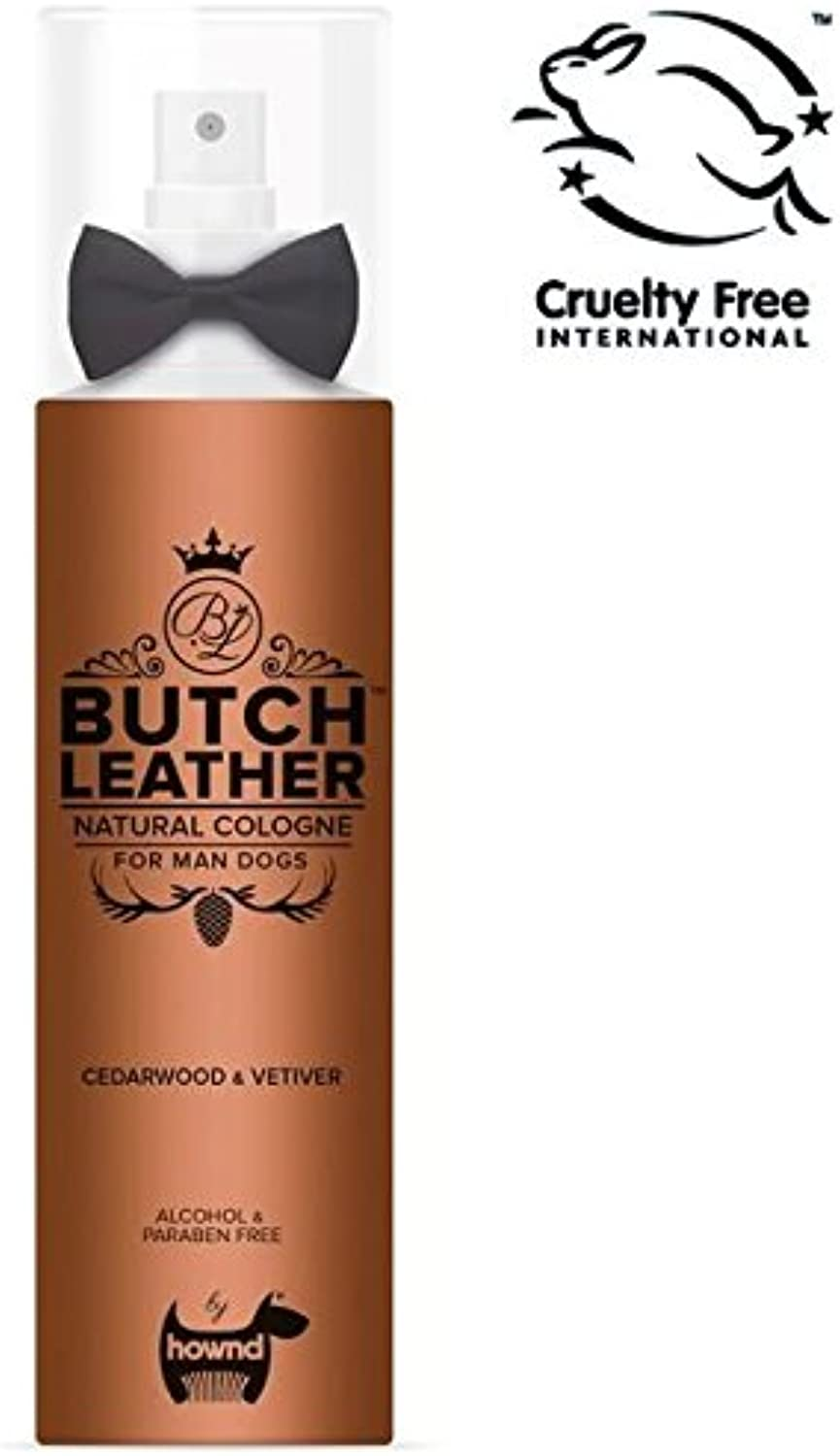 Hownd Butch Leather Cologne For Man Dogs (PACK OF 4)