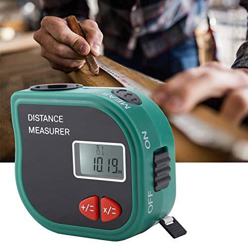 Distanziometro ad ultrasuoni, Misuratore di distanza ad ultrasuoni portatile LCD Misura di nastro elettronica