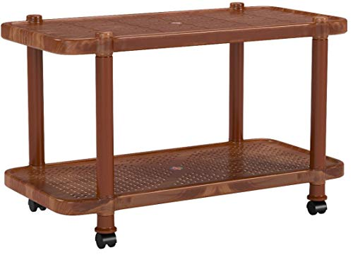 Cello Oscar Four Seat center Table (Sandalwood Brown)