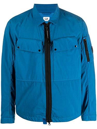Luxury Fashion   Cp Company Herren 10CMOS027A005782G870 Hellblau Polyamid Jacke   Ss21