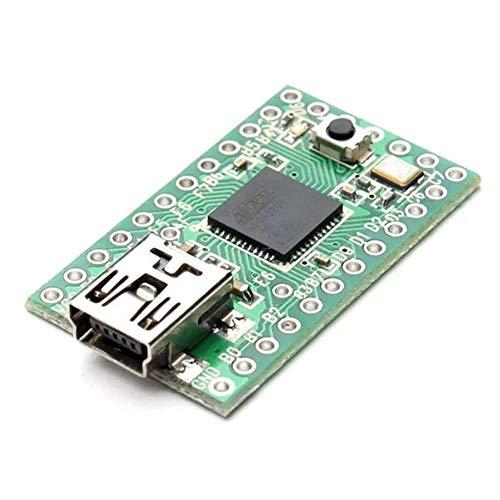 Qiyue Bao Zhuang Signalmodul Teensy 2.0-kompatibles USB AVR-Entwicklungsboard passend for Arduino ISP ATMEGA32U4 EIN WLAN-Modul
