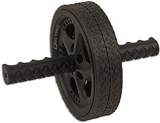 Da Vinci Dual Wheel Ab Exerciser- Abdominal Rollout Equipment Anti Slip Grips & Double Wheels