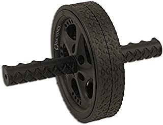 DA VINCI Dual Wheel Ab Exerciser- Abdominal Rollout Equipment with Anti Slip Grips and Double Wheels