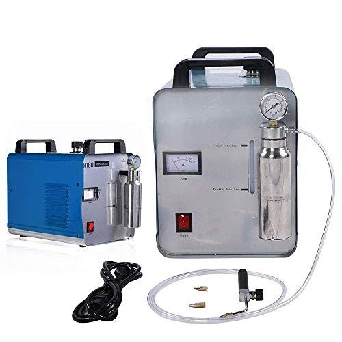 Generador de hidrógeno y oxígeno H180 95L Oxígeno Hidrógeno Soldador de Agua Llama Acrílico HHO Pulidora 220V