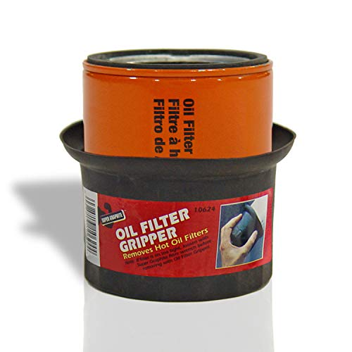 Oil Filter Gripper The Ultimate Professional Grade Tool To Remove Standard Car Or Truck Oil Filters Easily and Safely. Protect Hands From Heat and Burns. A Must Have For All DIYers and Auto Body Shops