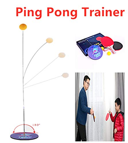 Purchase Ping Pong Balls Paddles Set Table Tennis Training Elastic Soft Shaft, Table Tennis Rebound ...