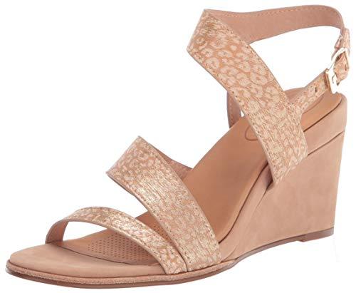CC Corso Como Women's NASHILA Wedge Sandal, Latte, 10 M US