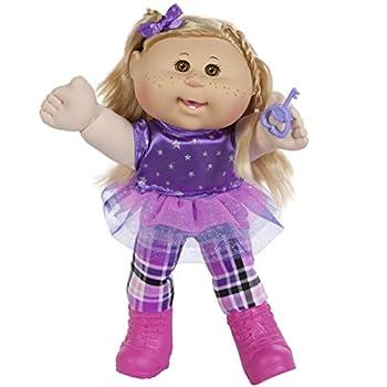 Cabbage Patch Kids 14  Kids - Blonde Hair/Brown Eye Girl Doll in Rocker Fashion