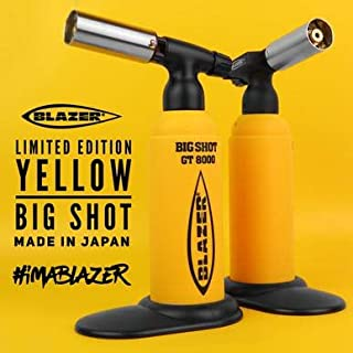 Blazer Big Shot Limted Edition Yellow Butane Torch