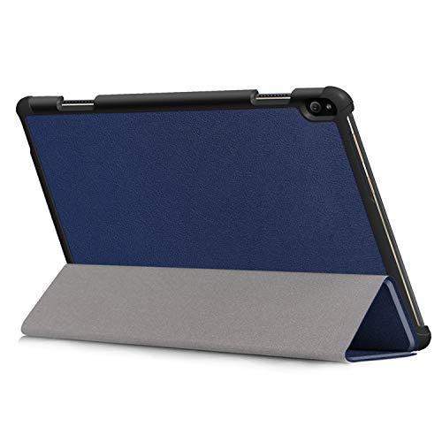 Kepuch Custer Hülle für Lenovo Tab P10 TB-X705F,Smart PU-Leder Hüllen Schutzhülle Tasche Hülle Cover für Lenovo Tab P10 TB-X705F - Blau