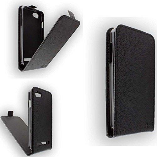 caseroxx Flip Cover für Archos 40 Power, Tasche (Flip Cover in schwarz)