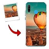 Funda Huawei P30 Lite Carcasa Personalizada con tu Foto o Texto Funda de Gel de TPU con los Bordes Transparentes