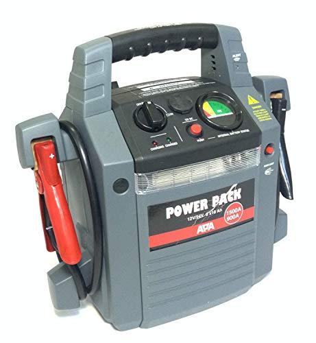APA Power Pack 12/24V 900/1500A mobile Starthilfe Ladegerät Powerpack