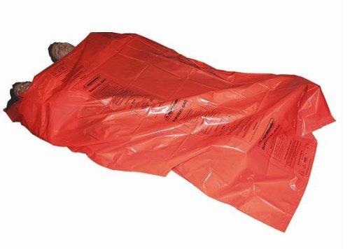 Highlander-kit de Survie Bivi, Rideau Double, Couleur : Orange