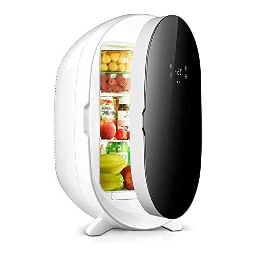 BIIII Mini refrigerador de coche 20L,Refrigeradores portátiles de una sola puerta pequeña de pantalla digital,Refrigerador compacto del congelador Coolbox