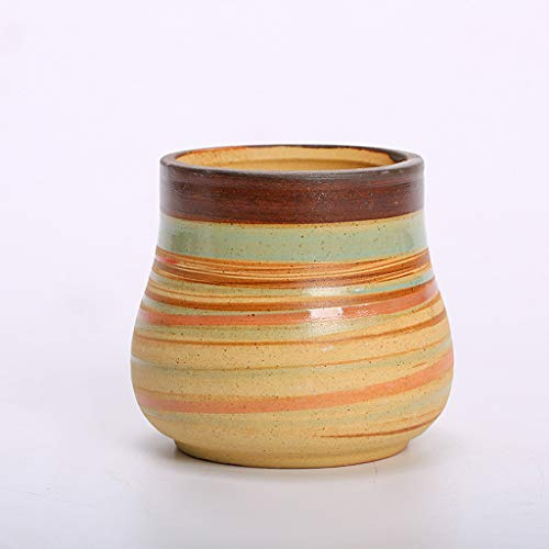 Lrxq Creatief grof keramische wastafel creatief plantenaartje keramische pot bloempot desktop kleine bloempot