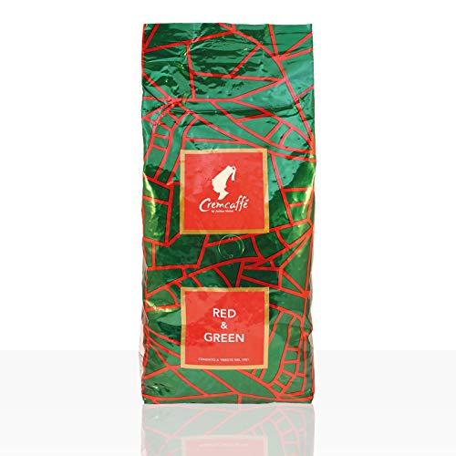 Cremcaffé by Julius Meinl Red & Green - 1kg Kaffee ganze Bohne