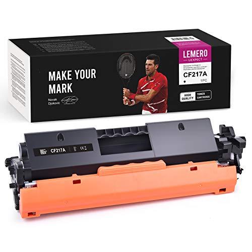 LEMERO UEXPECT Cartuchos de tóner compatibles 17A para HP 17A CF217A para HP Laserjet Pro M102a M102w MFP M103a M130fn M130fw M130nw (1 paquete, con chip)
