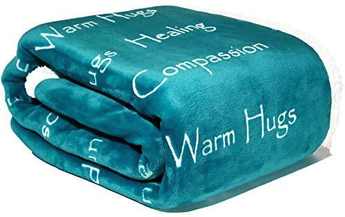 Find Discount WOLF CREEK BLANKET - Compassion Blanket - Strength Courage Super Soft Warm Hugs, Get W...