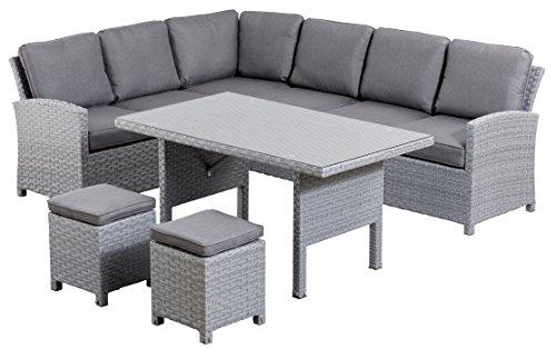KETTLER Advantage 0311230-7000 Faro Casual-Dining Gartenmöbel-Sets, mehrfarbig