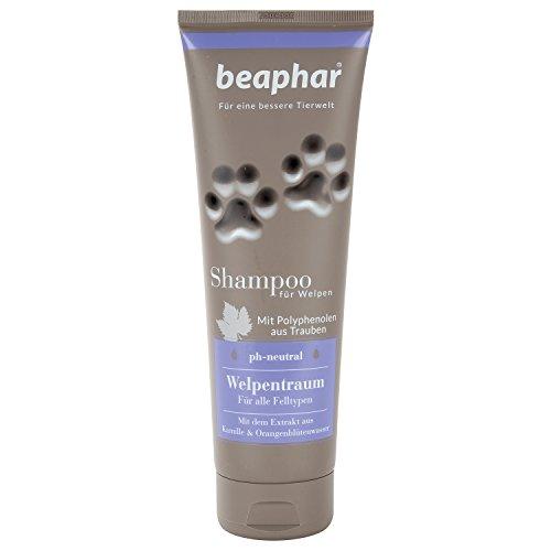 Premium shampoo Welpentraum | Sensitive puppenshampoo | vachtverzorging voor puppy's | puppenshampoo met geur | pH-neutraal | 250 ml