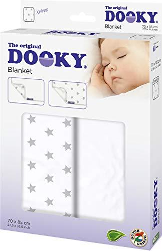 Dooky Manta de una sola capa gris estrella, 0,13 kg