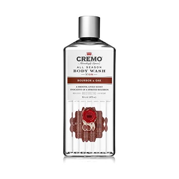 Cremo All Season Body Wash - Bourbon & Oak, 16 ounce 1