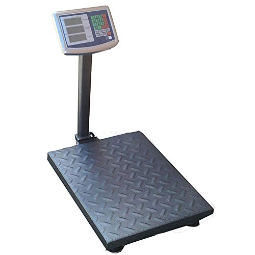 BILANCIA ELETTRONICA CON DISPLAY DIGITALE PROFESSIONALE RICARICABILE MAX 300 KG