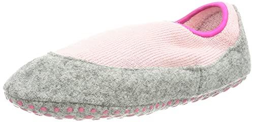 FALKE Unisex Kinder Cosy Slipper K HP Hausschuh-Socken, Rosa (Almond Blossom 8441), 33-34