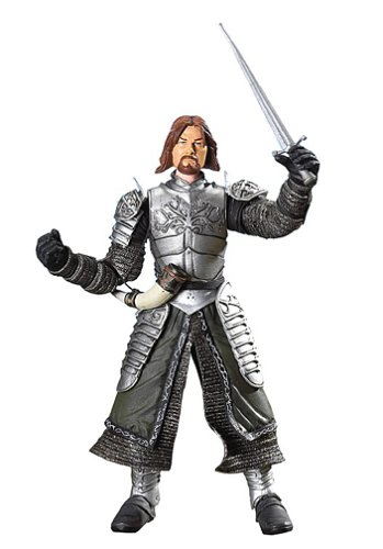 Lord of the Rings Trilogy Two Towers Action Figure Series 3 Boromir Captain of Gondor in Gondorian Armor