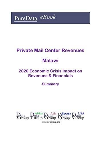 Private Mail Center Revenues Malawi Summary: 2020 Economic Crisis Impact on Revenues...