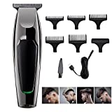 Hair Clipper for Men Professional Electric Hair Trimmer Cordless Rechargeable Hair Clipper Cutter Shaver for Home Use