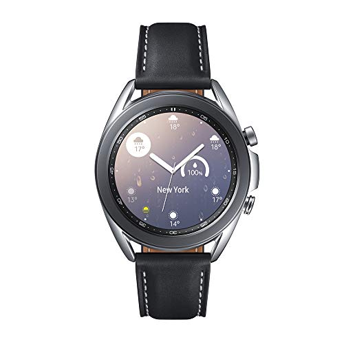 Samsung Galaxy Watch3 Smartwatch de 41mm I Bluetooth I Reloj inteligente Color Plata I Acero [Versión española]