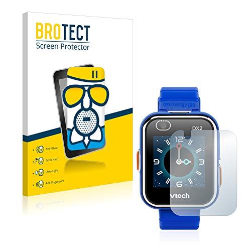 BROTECT Protector Pantalla Cristal Mate Compatible con Vtech Kidizoom Smart Watch DX2 Protector Pantalla Anti-Reflejos Vidrio, AirGlass