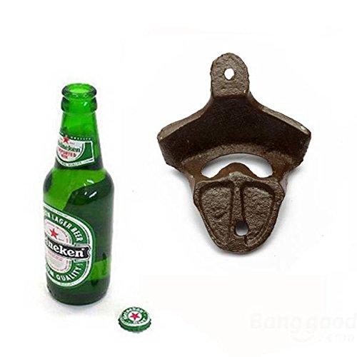 Bazaar ijzer antieke wandstang voor keukengaradgets bier flesopener