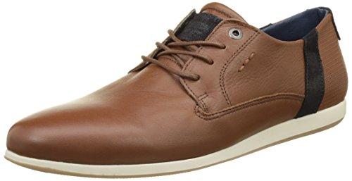 Redskins WADDENA, Zapatos de Cordones Derby Hombre, Marrón Cognac Marina, 45 EU