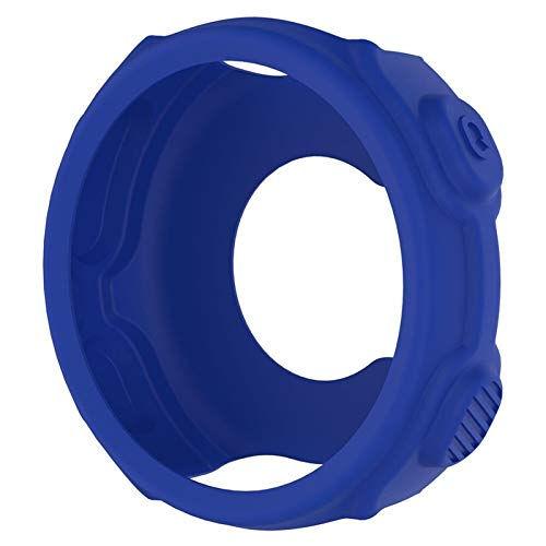 Housse De Protection en Silicone for Garmin Chronographes De Haute Qualité Souple Replacment Wristband Cas for Garmin Forerunner 235 / 735XT Montre GPS Convenience (Color : Blue)