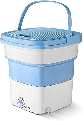 Misaki Mini Foldable high-Frequency Vibration Washing Machine | Portable Washing...