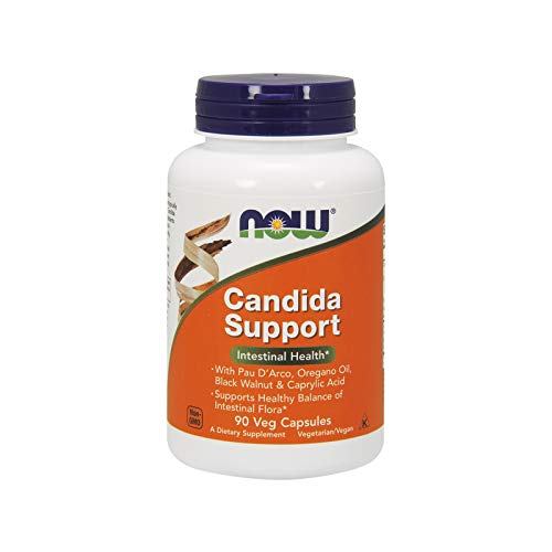 Now Foods Candida Support, 90 Kapseln