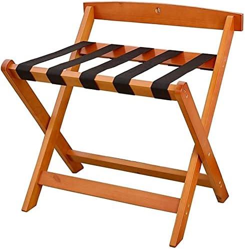 beeyuk Hotel Luggage New Shipping Free Shipping Rack Wood Shelf Solid Folding Max 87% OFF