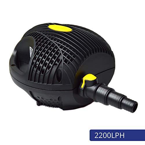 Laguna pomp Powerjet Max-Flo 2200 - waterval- en filterpomp voor tuinvijvers tot 4400 l, zwart