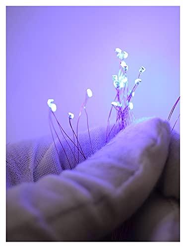 lxxiulirzeu LED cableado 0.1mm SMD 0603 0805 Modelos de lámpara Tren Micro Litz pre-Soldado para Juguetes Iluminación 20pcs / Lote (Color : 0805blue)