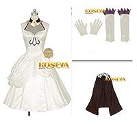 Fate/Apocrypha フランケンシュタイン 髪飾り*手袋付き☆コスプレ衣装 全 セット