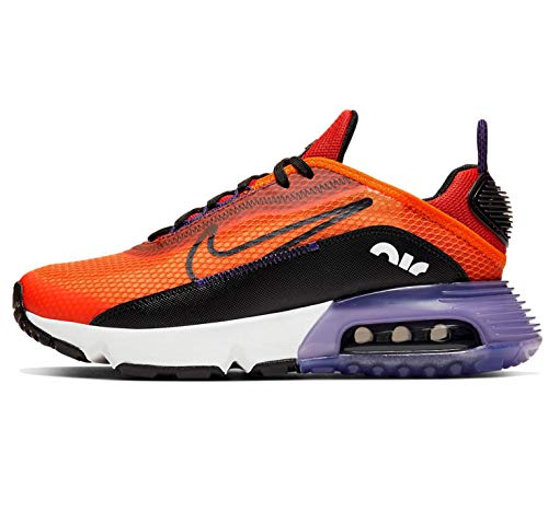 Nike Air Max 2090 (gs) Corriendo Casual Zapatos Grandes Niños Cj4066-800, color Naranja, talla 39 EU