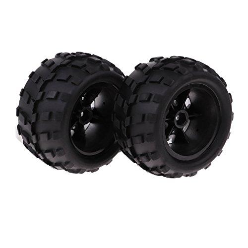 F Fityle 2X 1/18 Repuestos de Automóvil Neumático Derecho para 1:18 Wltoys A979 A979-B A979-a Part