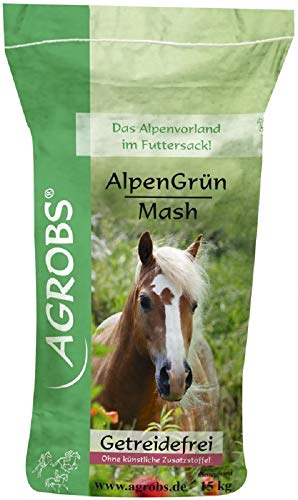 Agrobs Alpengrün Mash, 1er Pack (1 x 15000 g)